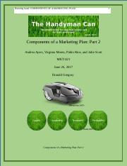 Components of a Marketing Plan Part 2.docx
