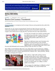 WSJ(5Sep2013)Basics Get Luxury Treatment.pdf