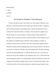 Assignment No. 3 Part 1 by Darvell Smith.docx