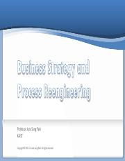 5 Business Strategy and Process Reengineering