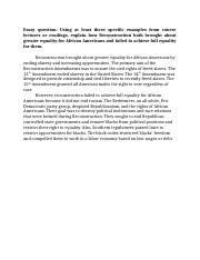 Career goals essay law