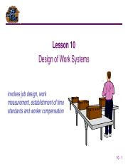 10 Design of Work Systems.pps