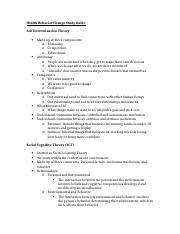 HBC Test 2 Study Guide
