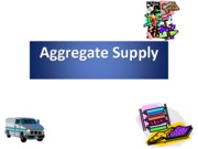 Aggregate Supply (Assignment)