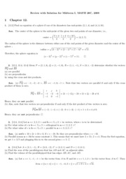 math20c Meesue Yoo fall 09 midterm review with key
