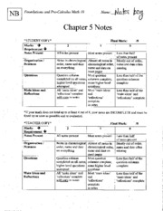 5Chapter5NotesKEY
