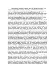 progressive movement essay progressive movement successful essay progressive movement essay