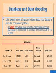 2&3.Database Concepts and Design