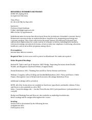ECON 585 BEHAVIORAL ECONOMICS AND FINANCE _revised syllabus.docx