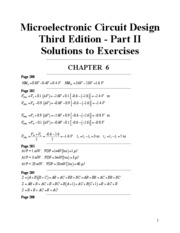Exercise Solutions Ch6-Ch9