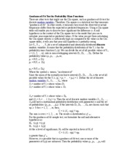 Goodness-of-Fit Test for Probability Mass Functions-ECO6416
