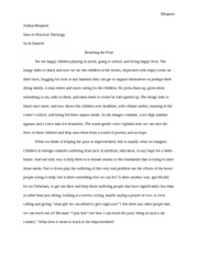 Intro Practical Theology Term Paper