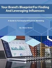 Your Brand's Blueprint For Finding And Leveraging Influencers.pdf