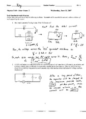 Phy2140_Exam2_Solutions_2007