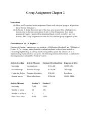 Group Assignment Chapter 3