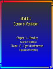Module J - Control of Ventilation.ppt