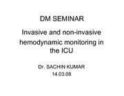 Hemodynamic monitoring in ICU web