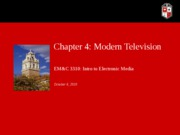EMC 3310 Chapter 4_Home Video