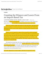 07.Counting the Winners and Losers From an Import-Based Tax - The New York Times.pdf