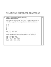 Chem 161-2010 Chapter 3B some Tavss practice problems + solutions