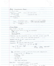 Notes on Compartmental Analysis