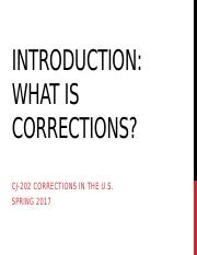 What is Corrections-2