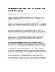 Difference between Flow Variables and Stock Variables.docx