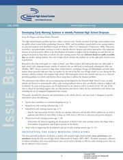 IssueBrief_EarlyWarningSystemsGuide