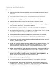 Business Law Exam 2 Practice Questions.docx