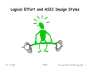 L08 Logical Effort and CMOS Design