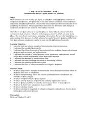 CHM116 Worksheet and Key - Chem 116 POGIL Worksheet Week 3 ...