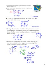 lableing right triangles