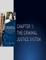 Chap 1 Criminal Justice Systems .ppt