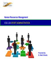 Week 4 - ESS 130 Human Resources Management