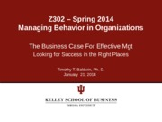 Business Case for Mgt - Jan 21