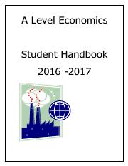 A Level Economics Student guide by roza14