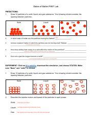 States of Matter PHET Lab Yanaa.pdf - States of Matter ...