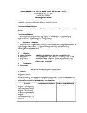 VALUES EDUCATION - Annex - Course Hero
