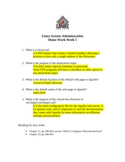 IT302 Home Work Week 5