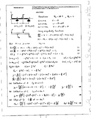 1049_Mechanics Homework Mechanics of Materials Solution