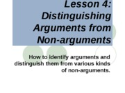 Lesson_4_Distinguishing_Argument_from_Nonargument