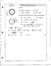 731_Mechanics Homework Mechanics of Materials Solution