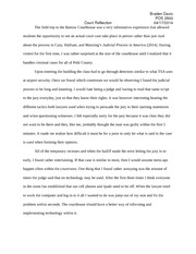 Court Reflection Paper