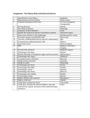 MedTerm Final Exam - Test Page Test Cumulative Chapter Exercises ...