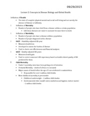 Study Guide for Lecture 2