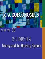 CHAP19 money and banking system