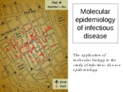 October 28 - Molecular Epidemiology b