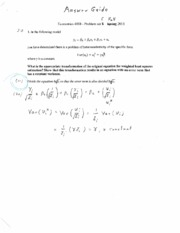 problem set 5 answer guide