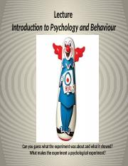Introduction to Psychology and Behaviour(1) (1).pptx