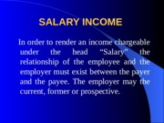 Salary Lecture IBIT 2015